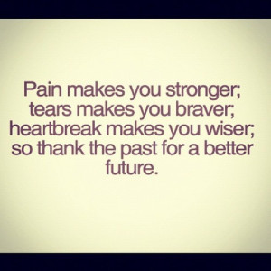 Thank The Past For A Better Future ♥
