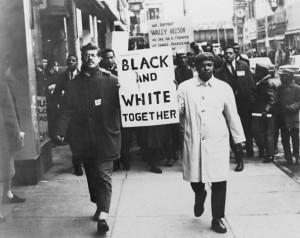 Racial Equality Demand racial equality on