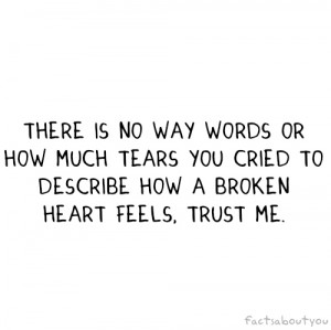broken heart, heart, love, quote