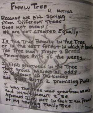 Family Tree (Poem)