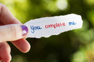 Love Quotes. You Complete Me Quote.