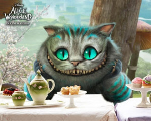 """... Alice in Wonderland"""" movie in 2010. His voice acting was done by"""