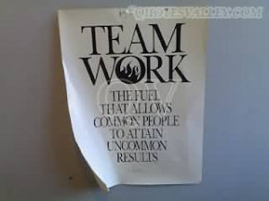 christina lovejoy the nice thing about team work team work