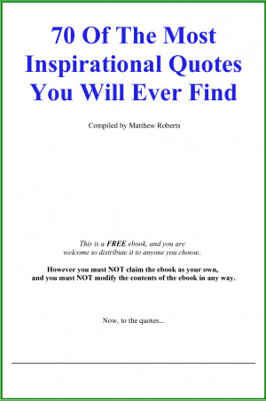 Motivational Ebook, Personality Development, Quotes Ebook