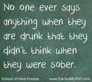 Drunk talk or text?