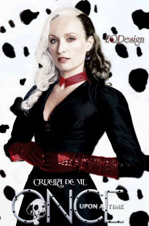 Once Upon A Time Victoria Smurfit as Cruella De Vil