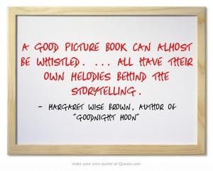 ... the storytelling.