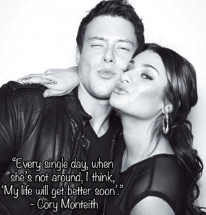 cory monteith quotes - Google Search | via Tumblr
