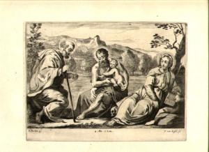 THEODOR VAN KESSEL (Dutch) Etching