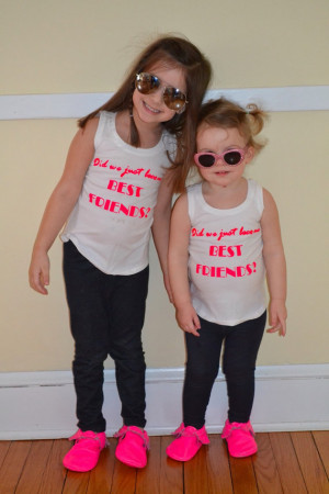 Did we just become best friends? Unisex tank toos! Quote from Step ...