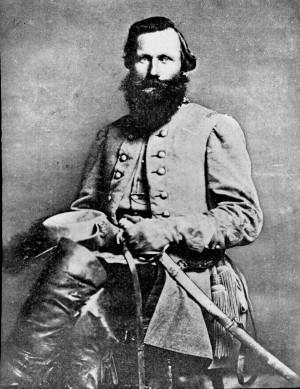 Confederate Cavalry General J.E.B. Stuart