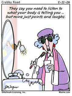 Funny Maxine Quotes About Life | Maxine Exercise and Diet Quotes ...