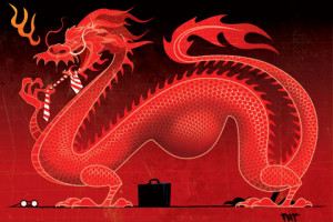 Dragon King Color And Black