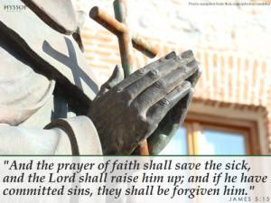 holy bible james healing the sick