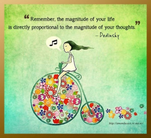 Magnitude of life. #quote #Dodinsky