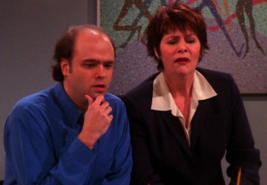 In which Pete Hornberger from 30 Rock has to stare at Joey's fake ...