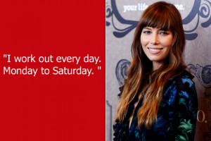 Jessica Biel had a pretty shoddy Sunday School education. Apparently ...