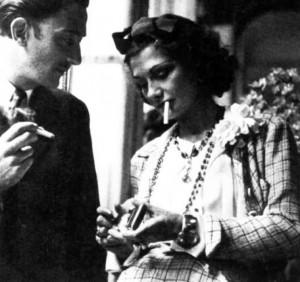 Salvador Dalí y Coco Chanel