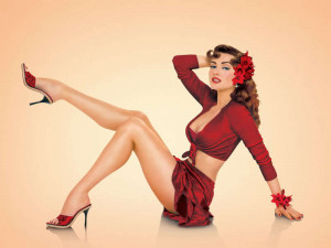 pin up gallery fill up your eyes with these pretty pin up girls