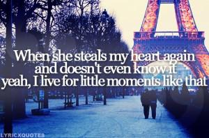 Brad Paisley Little Moments Quotes Brad paisley - little moments
