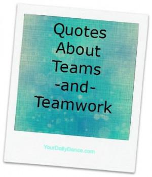 Team/Teamwork+Quotes...