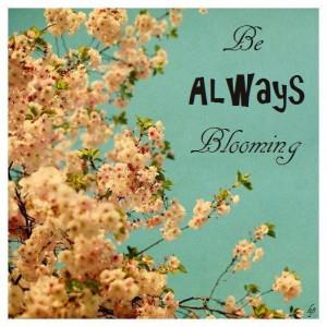 ... PLANTED ~ Spring ~ Blossom ~ Alive ~ Love ~ Jesus ~ God ~ Yeshua