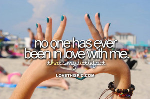 love it no one loves me