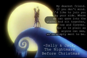 Nightmare before Christmas. How i love this movie.