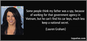 More Lauren Graham Quotes