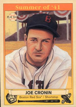 Joe Cronin Baseball