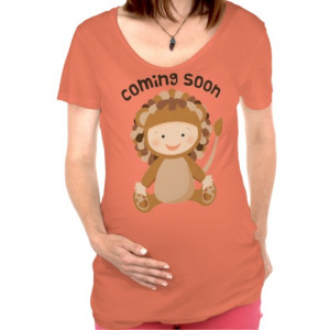 Baby Coming Soon Quotes Cute lion baby coming soon
