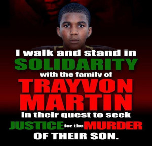 Trayvon Martin DESERVES justice for his senseless killing by George ...