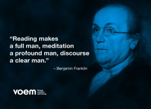 ... meditation a profound man, discourse a clear man.