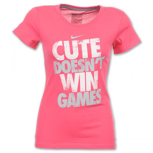 description nike attitude women s tee shirt the nike attitude tee ...