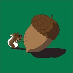 Re: Even a blind squirrel finds an acorn sometimes