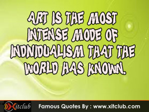 Art Quotes Famous Artists...