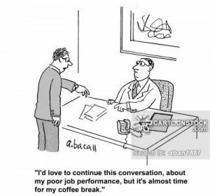 job jobs career careers tea break cartoon 7 of 83
