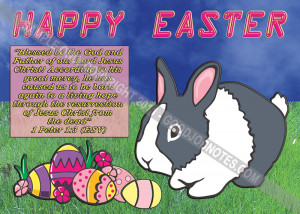 General Use Easter post Card - You can personalize the back with your ...