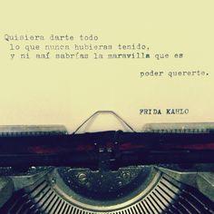 Frida habló #frida #kahlo #quote #love More