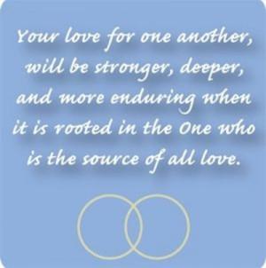 Catholic Wedding Help Quotes