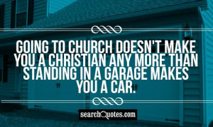 Going To Church Quotes