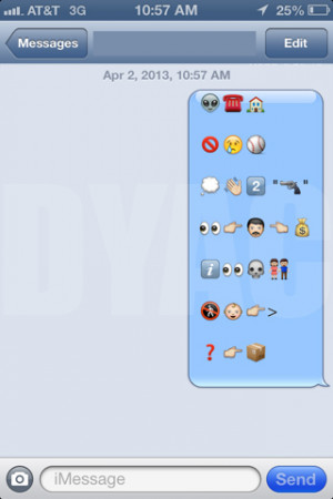 funny auto-correct texts - Emoji Tuesday! Famous Movie Quotes