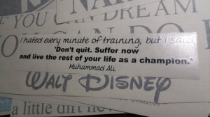 Famous Muhammad Ali Motivational Quote Wall Decal OVERSTOCK 25% OFF!