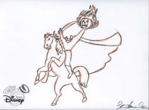 The Headless Horseman Cartoon