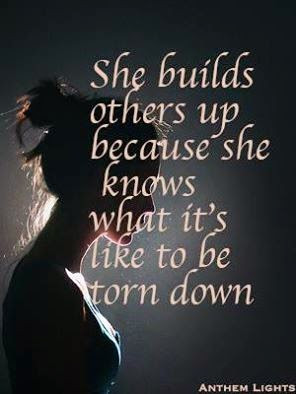 building others up inspirational quote