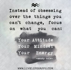 Attitude, Mindset, Energy