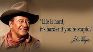 Cowboy wisdom...