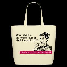 Think before you say bullshit Bags