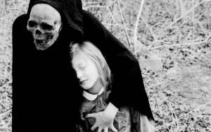 dark death gothic grim reaper mask skull costume evil mood emotion ...