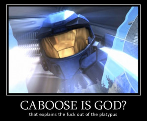 Red Vs Blue Caboose